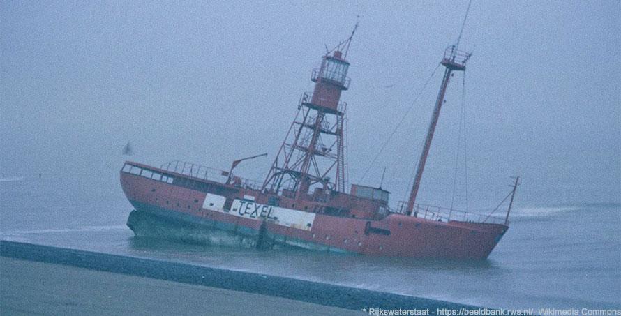 Unglück mit Feuerschiff 11