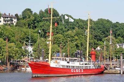 Das Feuerschiff Elbe