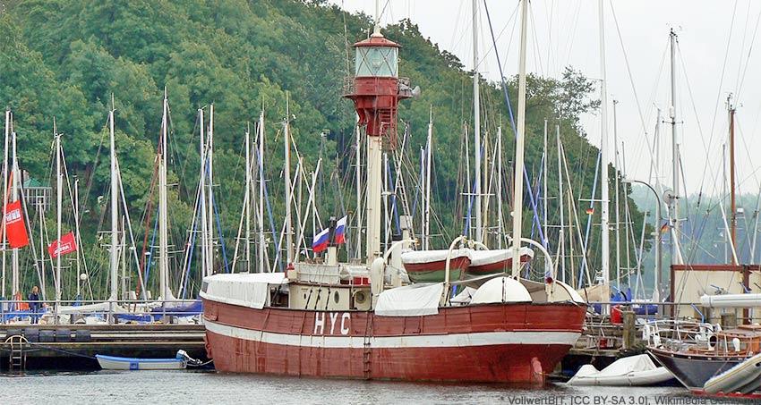 Das Feuerschiff Læsø Rende
